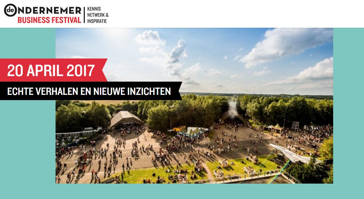iGNITE! Music programmering muziek entertainment Business Festival Twente De Ondernemer 2017