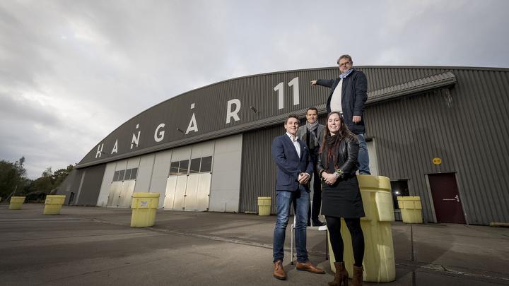 iGNITE! Music booking agency verzorgt entertainment tijdens Business Festival Twente 2017 - Hangar 11 - Luchthaven Twente - Enschede