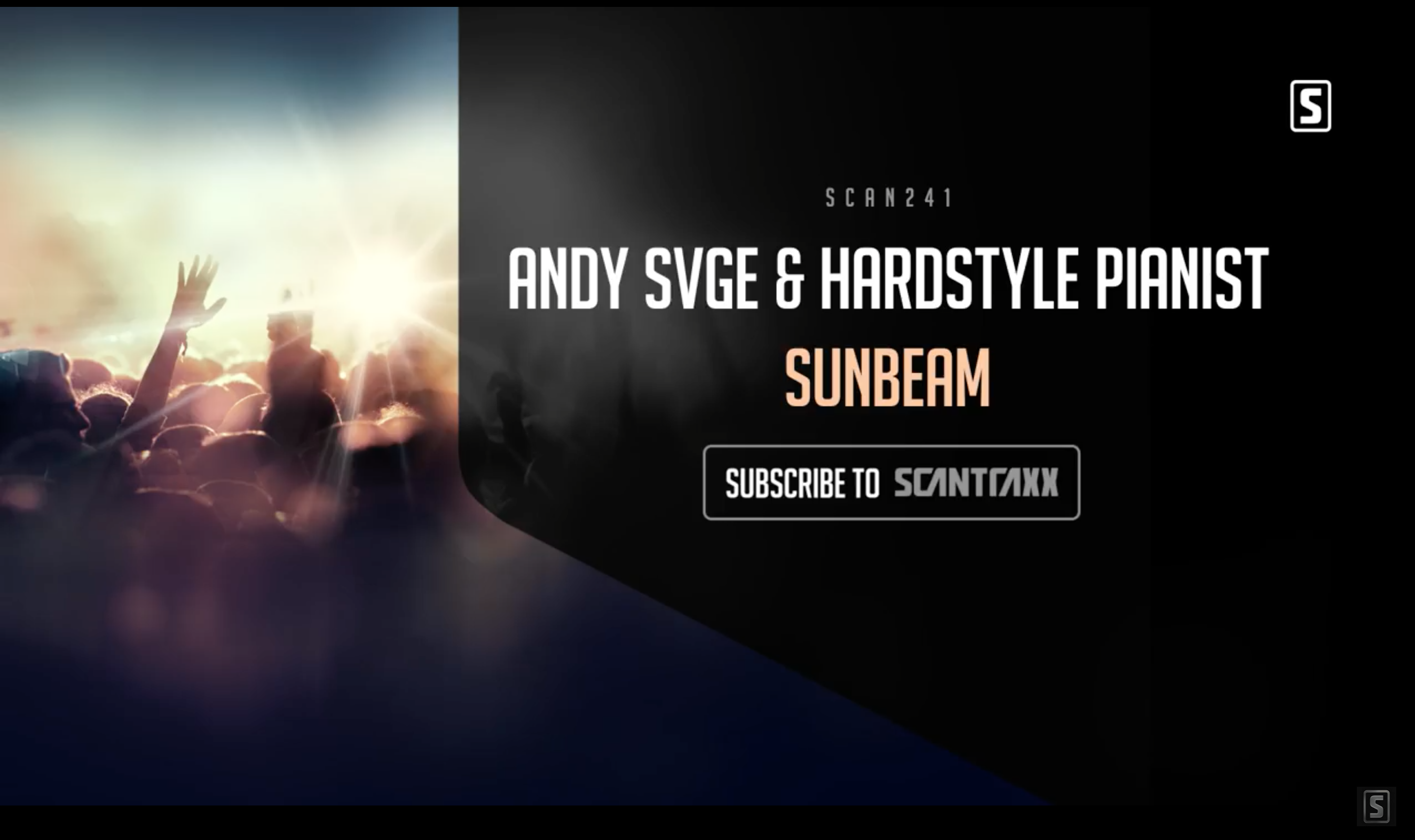 Single 'Sunbeam' by ANDY SVGE & Hardstyle Pianist already over 60k views on Youtube